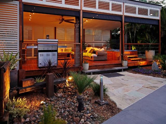 Aluminium Shutters Outdoor Rooms Modern Deck