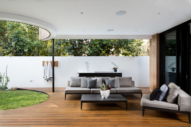 Art Haus Co Collab Contemporary Patio Perth By Perth Style Co