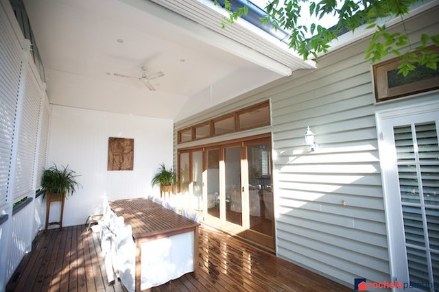Ashgrove Traditional Weatherboard House Deck