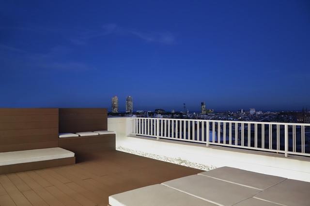 Tico ronda sant pere 28 08010 barcelona terraza - Atico terraza barcelona ...
