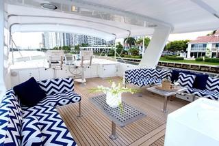 Aventura Yacht Beach Style Deck Miami By Fein