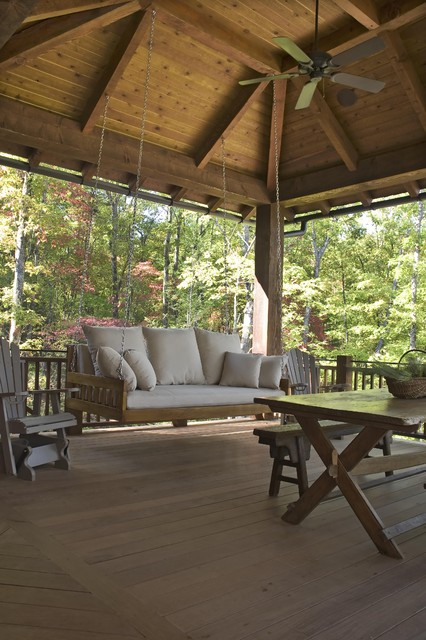Azalea Ridge Rustic Deck Other By Wright Design