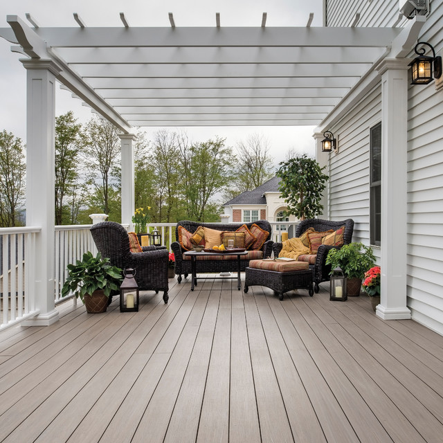 ... Premier and AZEK Trim - Contemporary - Deck - other metro - by AZEK