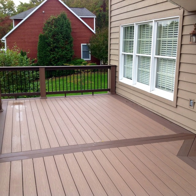 Azek Deck With Timbertech Builderrail And Genovations