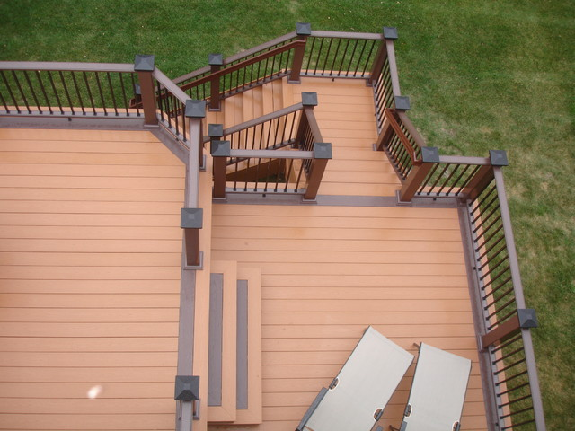 Azek Decking - Plymouth MN traditional-deck