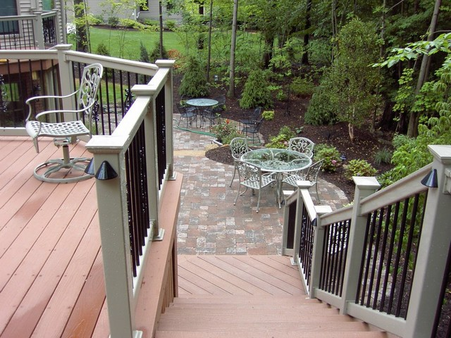 Backyard Remodeling & Renovation....New Deck & Patio Areas traditional-deck