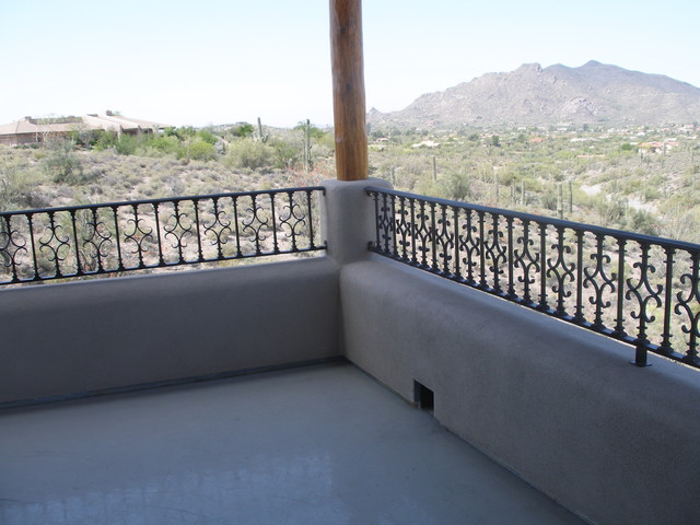 Balcony Railing Traditional Deck Phoenix By