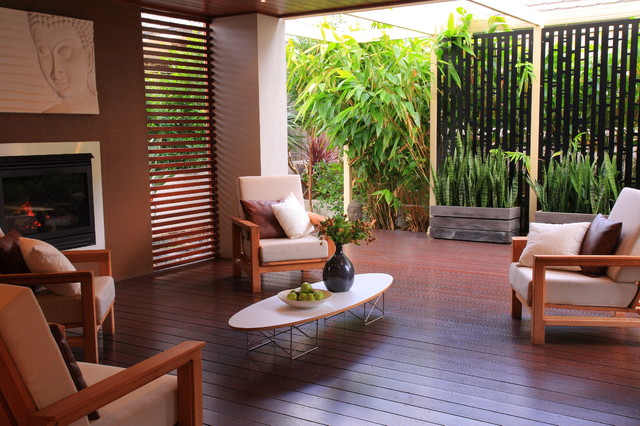 Bali Style Retreat Asian Deck Other Metro By Ecodesign Pty Ltd