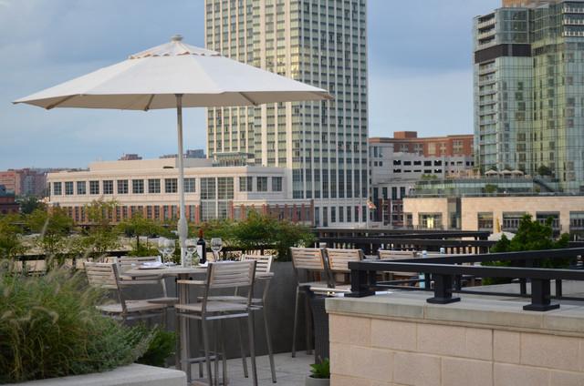 Baltimore Roof-Top Terrace modern-deck