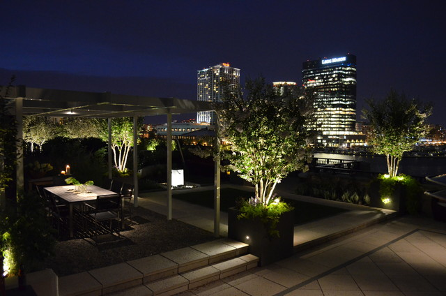 baltimore roof top terrace modern deck baltimore by plusen