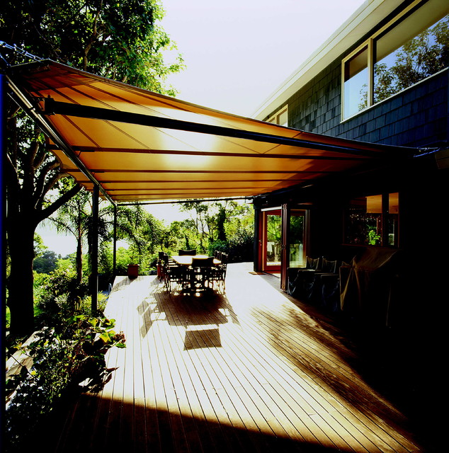 Batten Awnings contemporary deck