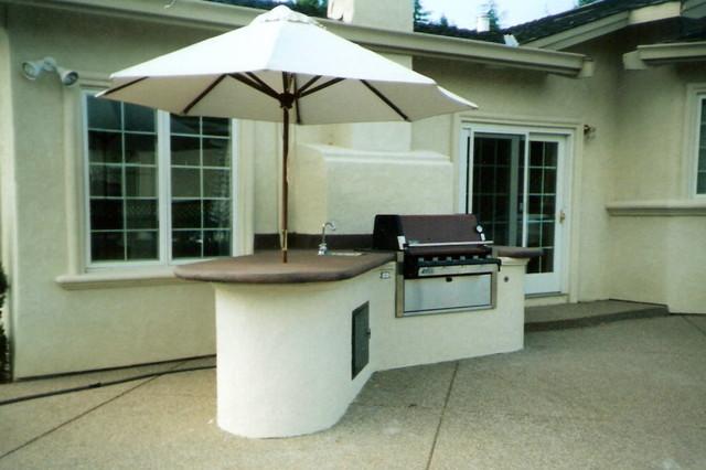BBQ modern-deck