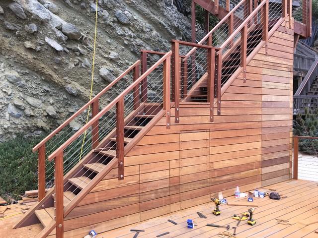 Beach Access Stairs U0026 Deck   Laguna Beach, CA Modern Deck
