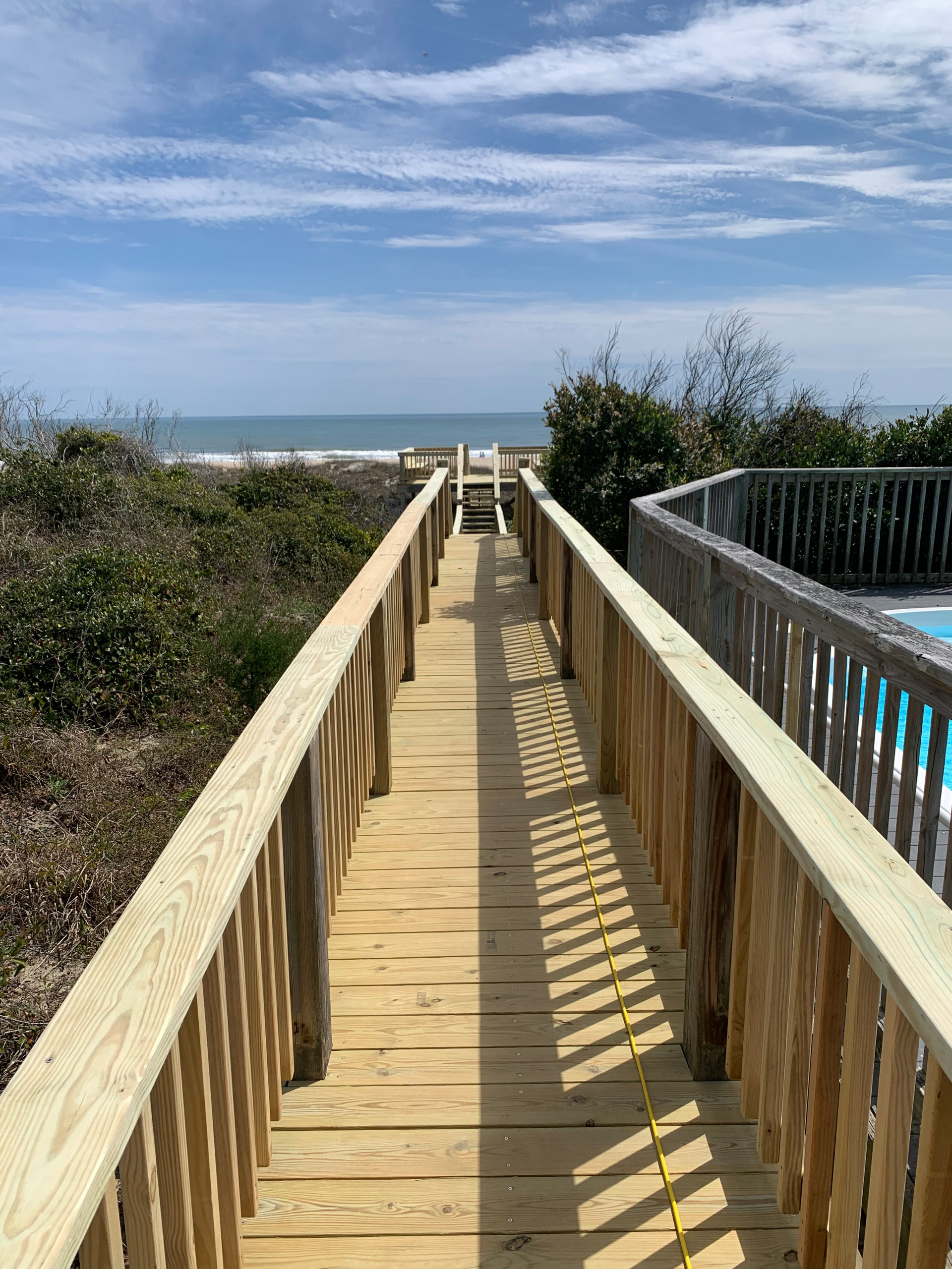 Beach Mountain Deck