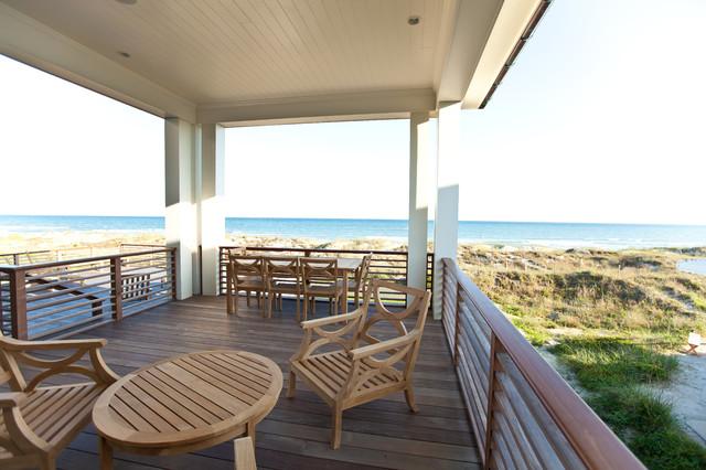 Beach Style Deck Coastal