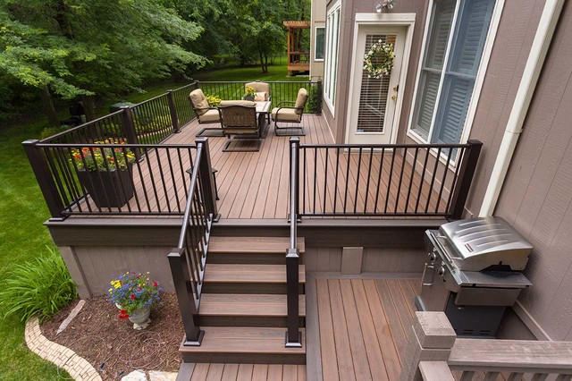 Beautiful decks modern deck kansas city by for Beautiful garden decking