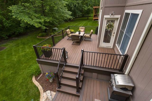 Modern Deck Kansas City By Creative Concepts amp Design LLC