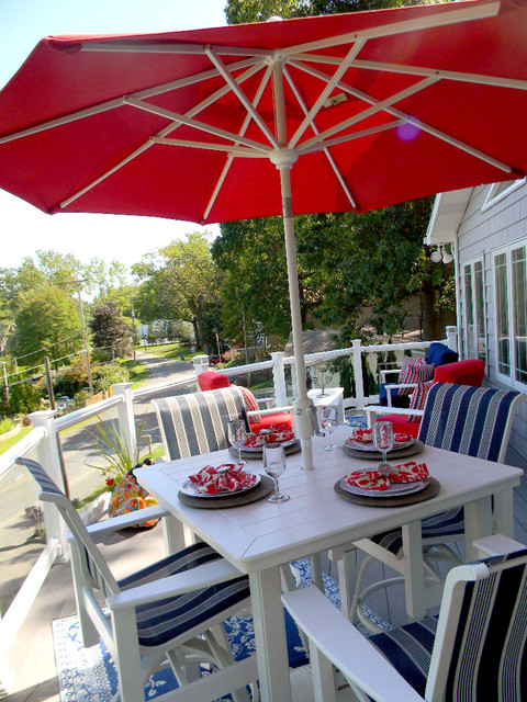 Bell Tower Outdoor Living Company - Contemporary - Deck ... on Outdoor Living Company id=43024
