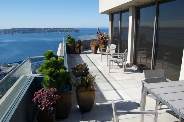 Belltown contemporary-deck