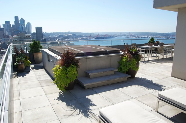 Belltown contemporary patio