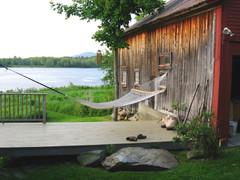 Фотоохота: Качели и гамаки в саду