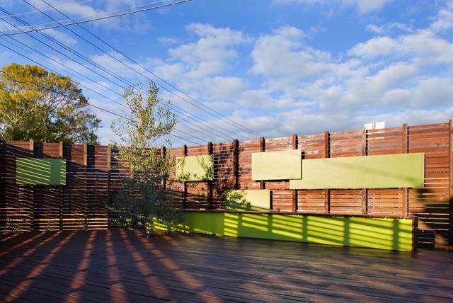 Bentleigh House contemporary-deck