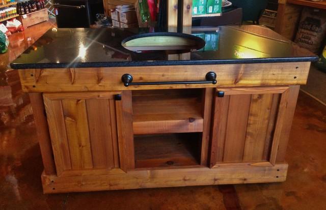 Big Green Egg Table -- Double Door