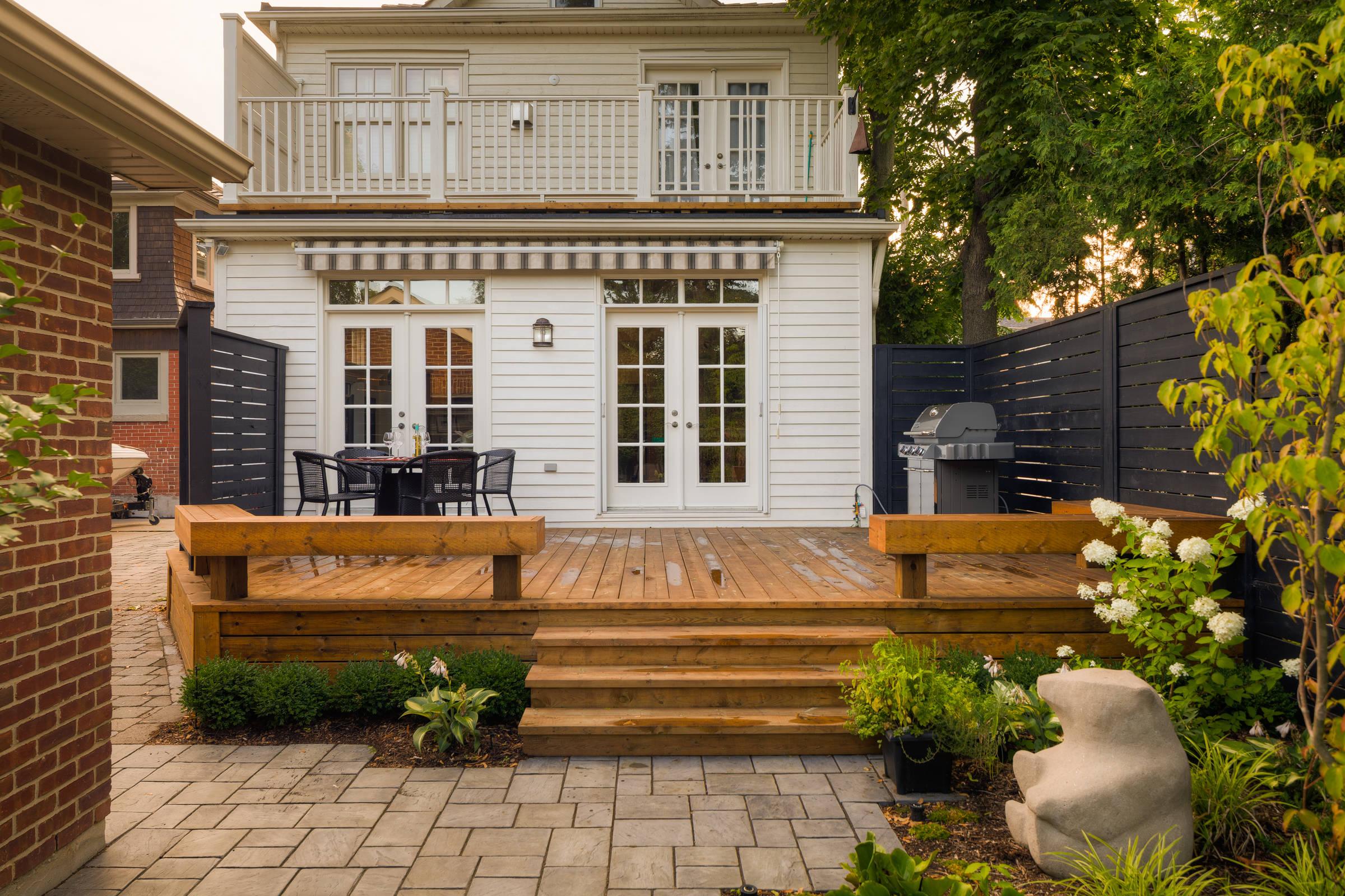 Bloor West Village Backyard Makeover