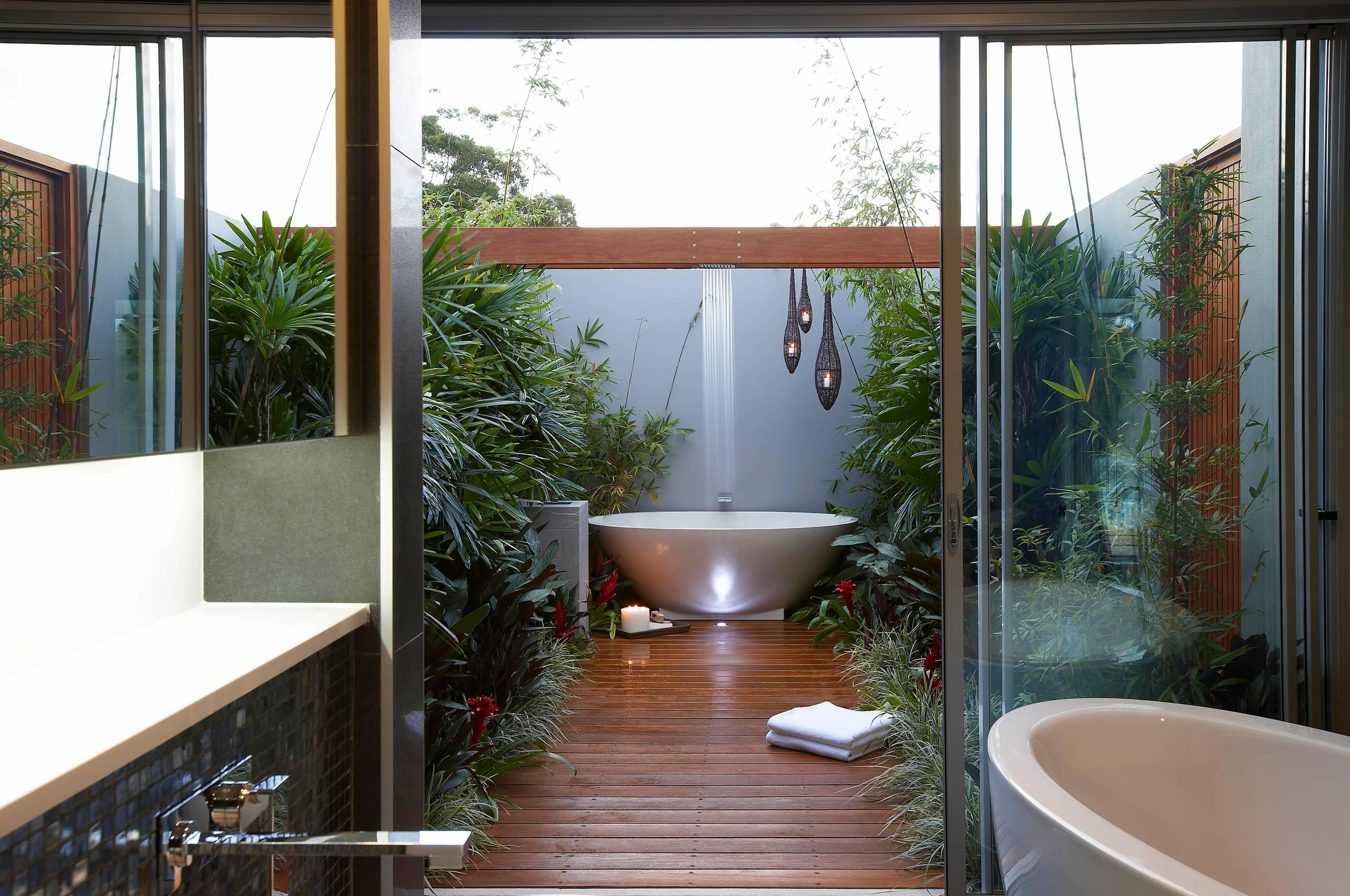 Outdoor Bathroom Houzz