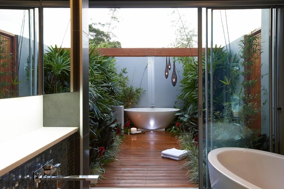 Deck - tropical deck idea in Sydney