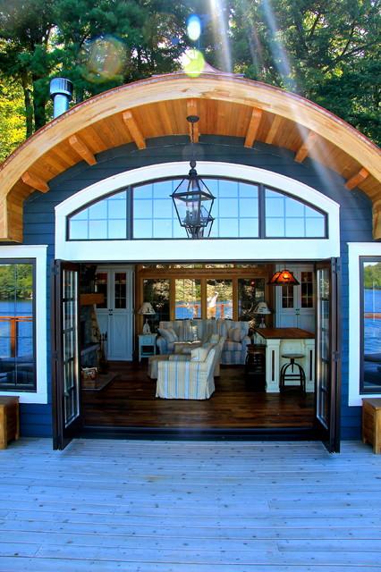 Boathouse Port Carling Ontario Canada Beach Style