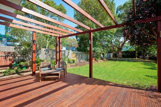 ... House - Transitional - Deck - sydney - by Angus Mackenzie Architect