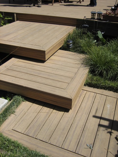 Alford residence for Garden decking designs pictures