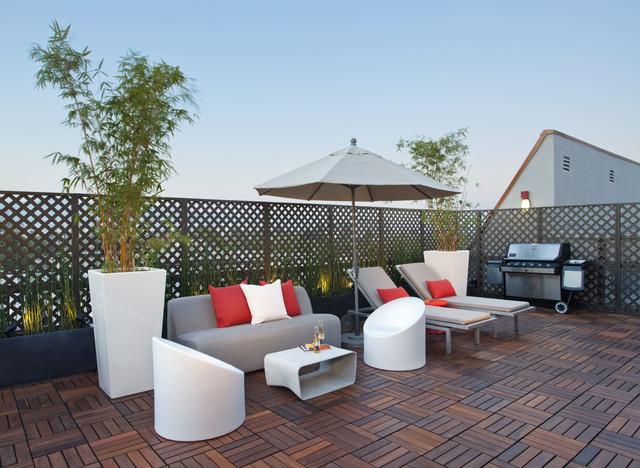 Caisson Studios– Interior Designer Los Angeles eclectic-deck