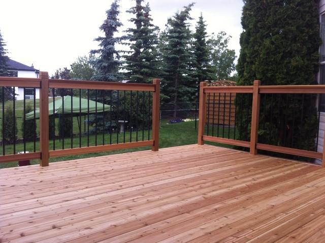 Calgary Decks traditional-deck