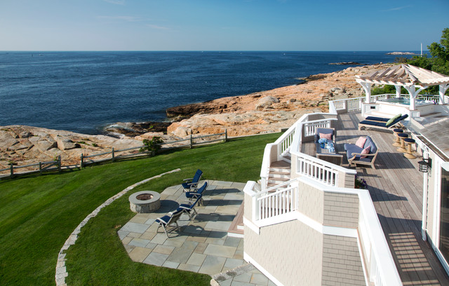 Christmas Tree Recycling Gloucester : Cape ann oceanfront exterior renovation beach style