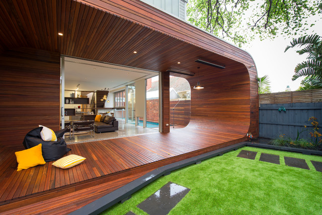 Carpenter Street - Contemporary - Deck - Melbourne - by Dig Design on bachelor house design, guard house design, prairie house design, blue bird house design,