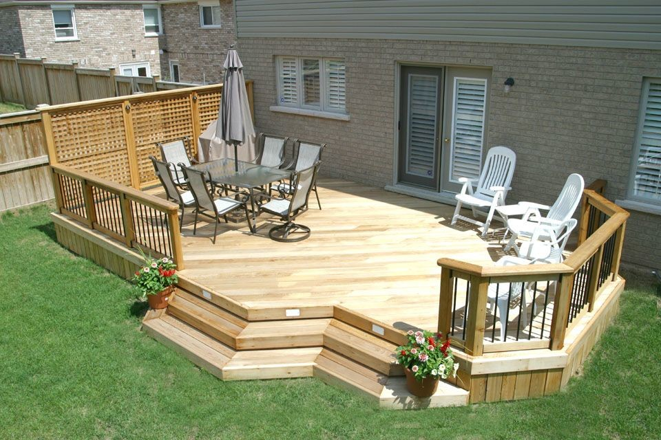 What Are Some Small Backyard Deck Decorating Ideas ...