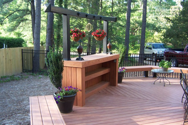 Chapman-TimberTech Deck, Bench, and Bar deck