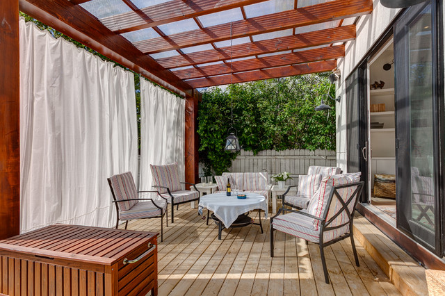 Charleswood Home Contemporary Deck Calgary By Cat