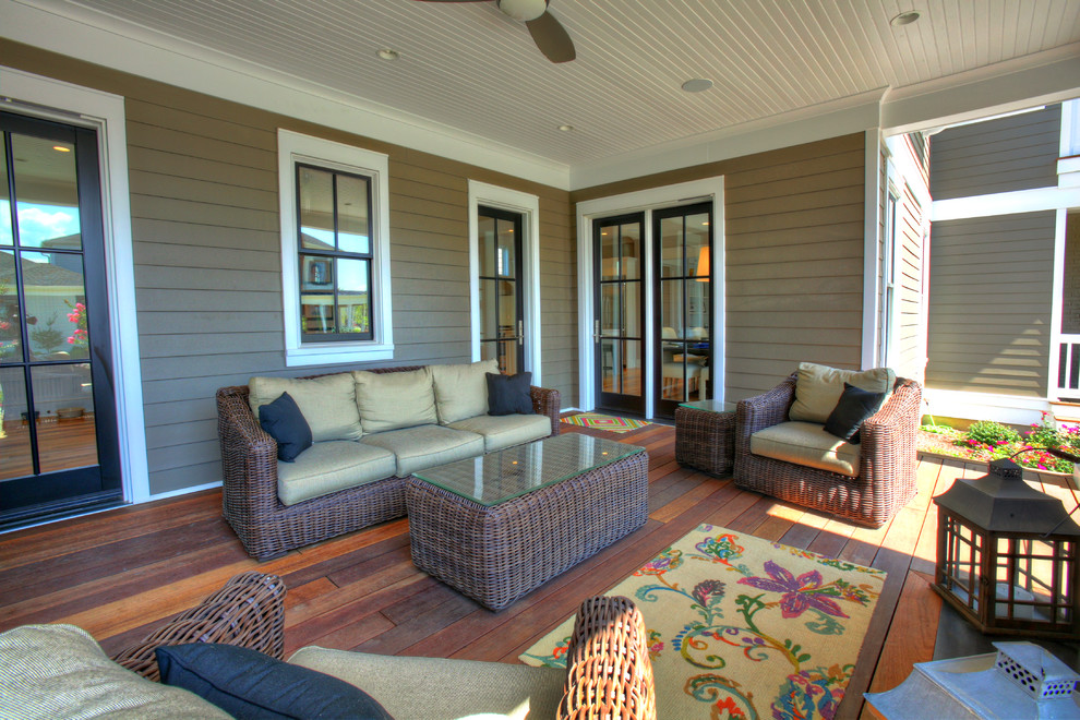 Example of a classic deck design in Louisville