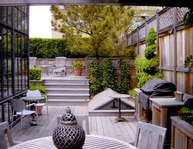 Chelsea Penthouse contemporary-deck