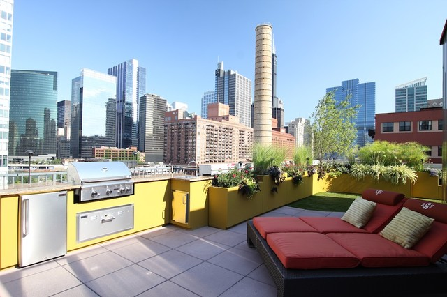 Chicago Green Design modern-patio