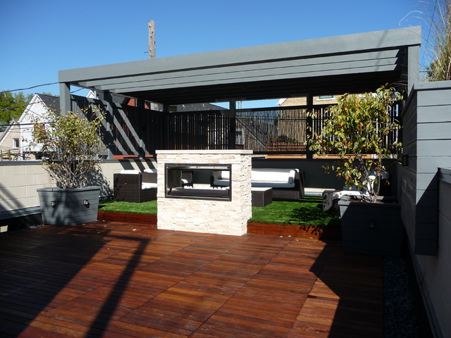 Chicago Roof Deck Contemporary Deck Other by