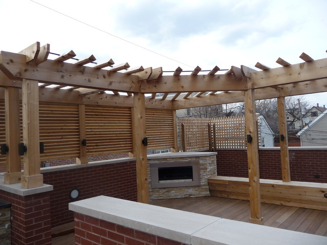 High Quality Chicago Roof Deck Contemporary Deck