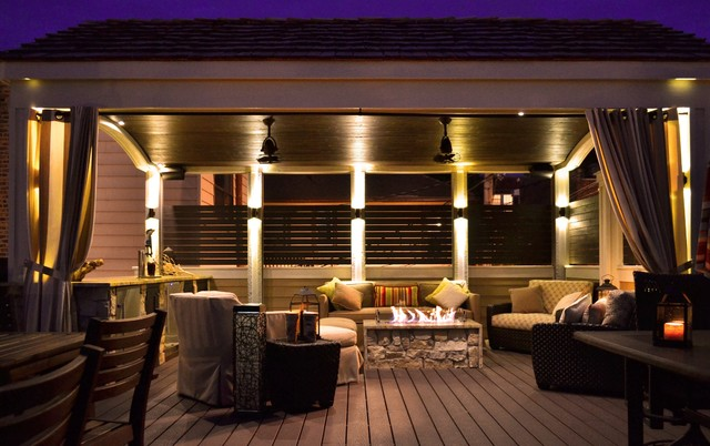 Chicago Roof Deck Contemporary Deck Other Metro By