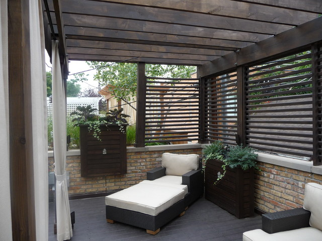 Chicago Roof Deck Transitional Deck Other Metro By
