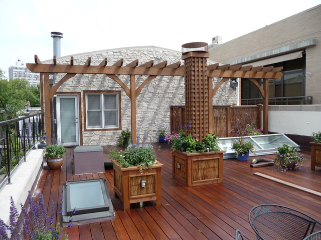 Good Chicago Roof Decks U0026 Landscaping Traditional Deck