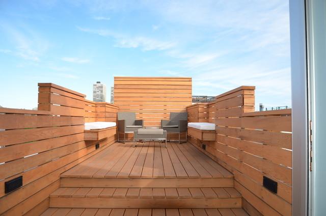 City Roof Deck Contemporary Deck Philadelphia By