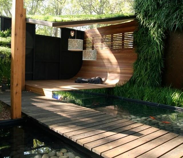 Clever Courtyard Design - Modern - Terrasse - Sonstige - von GardenDrum